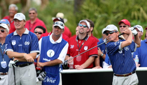 Mark McNulty Professional Golfer Tavistoc Cup