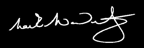 Mark McNulty Professional Golfer signature 2